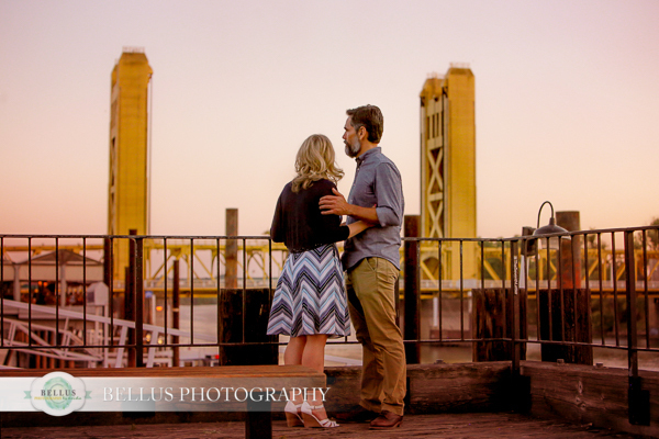 Old Sacramento Engagement Pictures